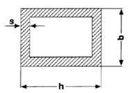 Rechteckrohre Aluminium