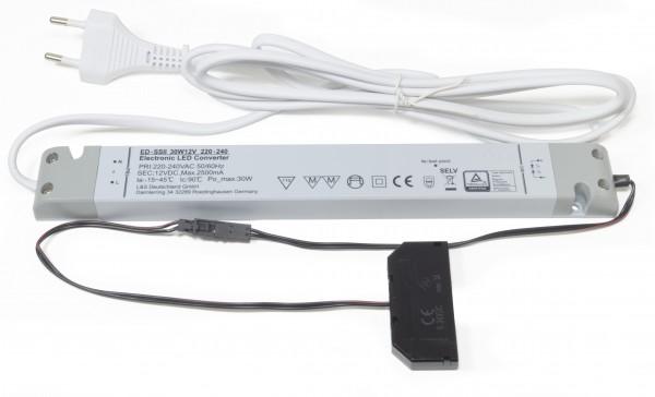 LED Konverter 230/12V, 30W