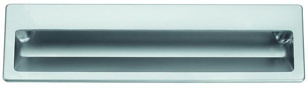 Muschelgriff Zinkdruckguss 176x55mm