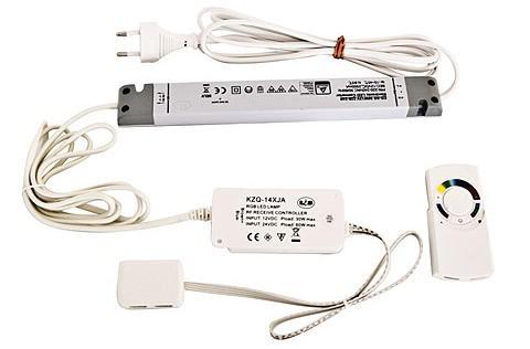 LED RGB Steuerung mit Funkfernbedienung 24 Volt