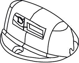 Sicherheitssensor zu Kleiderlift Servetto Elettrico