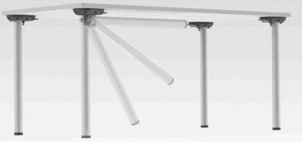 Tischbein Set - klappbar