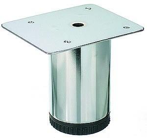 Sockelfuß Stahl Durchmesser 60mm