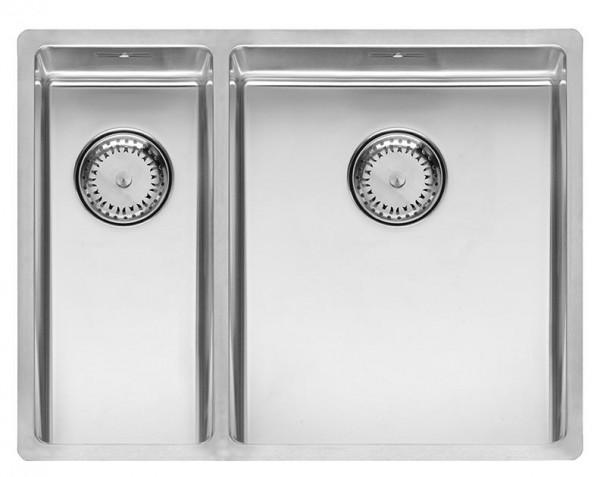 Beliebt Spüle New York Doppelbecken Edelstahl Seidenglanz | Spülen | Küche WO85