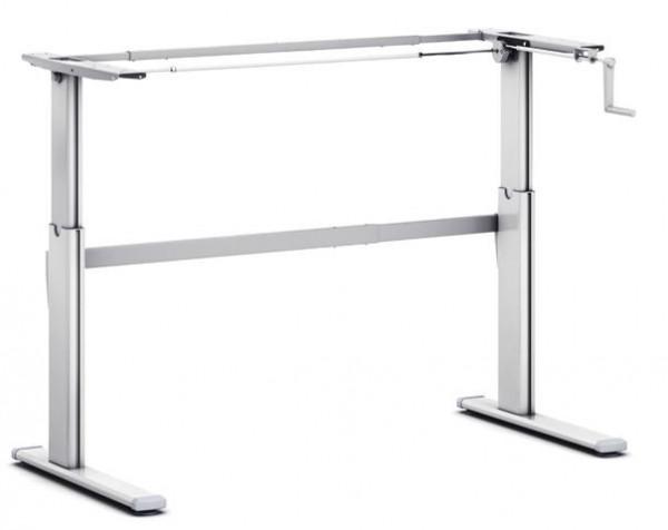Schreibtischgestell Pro110HC mechanisch höhenverstellbar