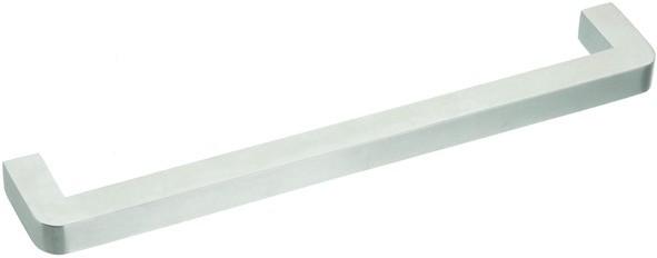 Bügelgriff Edelstahl Profil 10x10mm, Höhe 35mm
