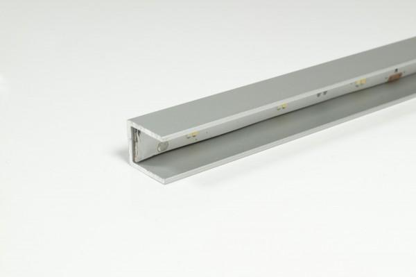 LED Anbau-Glaskantenprofil Länge: 2500mm (Artikelnummer 2000359)