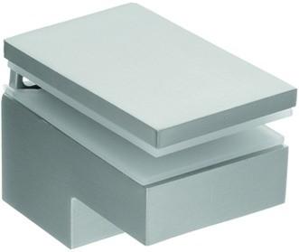 Glas-Klemmkonsole für Böden 6-40mm