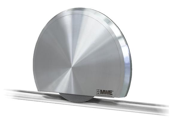 Schiebetürbeschlag Terra M XL - Set für Glastüren mit Stärke 10-15mm