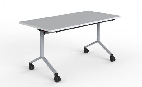 Klapp - Tischgestell mit Rollen