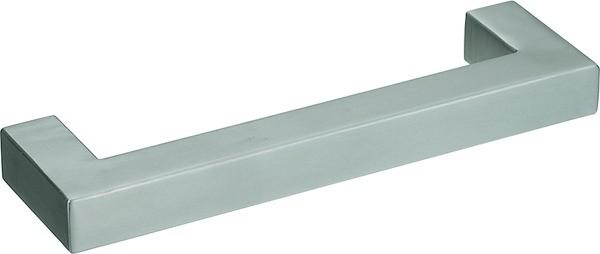 Gehrungsgriff Edelstahl 15x15mm, matt gebürstet
