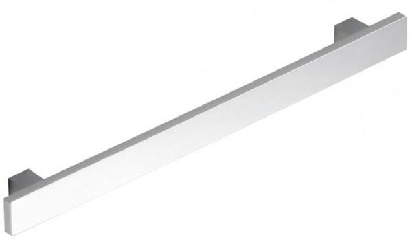 Flachbandsockelgriff Edelstahl gebürstet, Profil 15x6mm, Maßfertigung