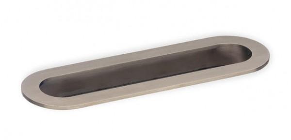 Muschelgriff 44199 oval Edelstahl matt gebürstet