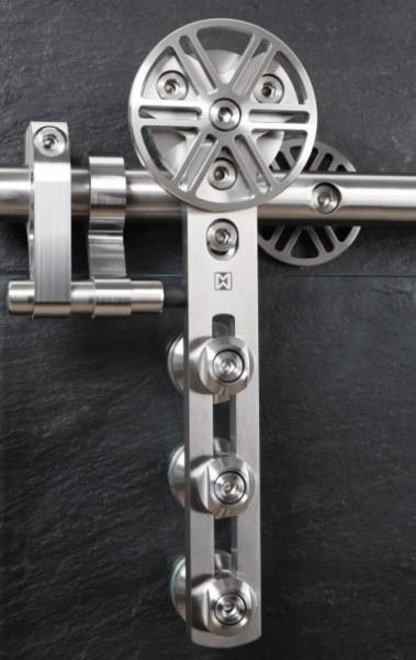 Schiebetürbeschlag Chronos - Set für Holztüren mit Stärke 19-45mm