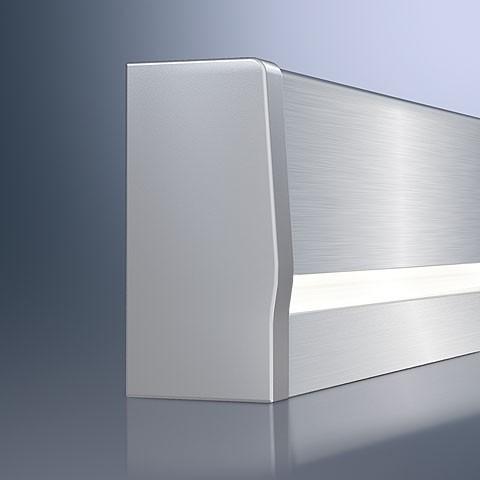 LED Wandanschlussprofil, Maßfertigung