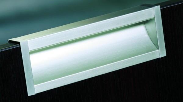 Griffschale Aluminium EV1 eloxiert, Maßfertigung