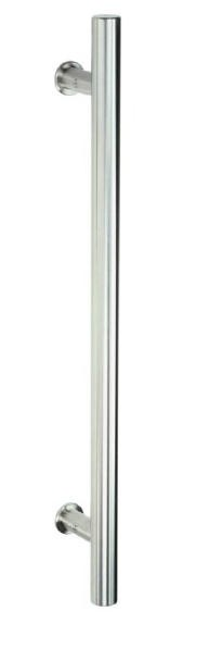 Stossgriffpaar Edelstahl Durchmesser 25mm