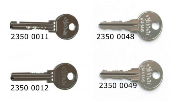 Schlüssel für Münzpfandschlösser