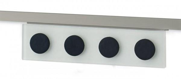 Magnethalter für Relingrohre eckig 16x16mm