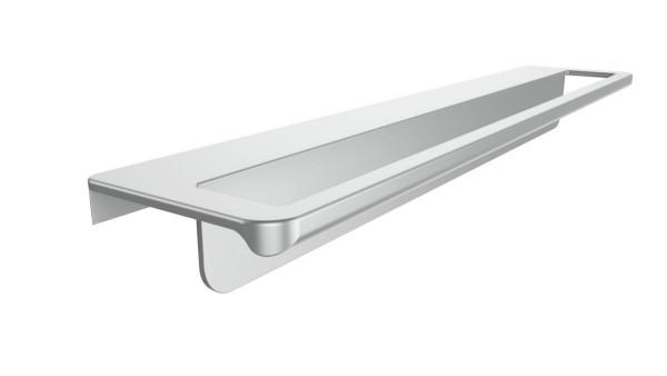 Handtuchhalter Aluminium für grifflose Möbelfronten