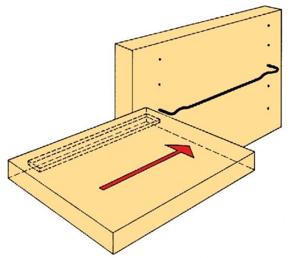 Schwedenträger Stahl verzinkt Durchmesser 3mm