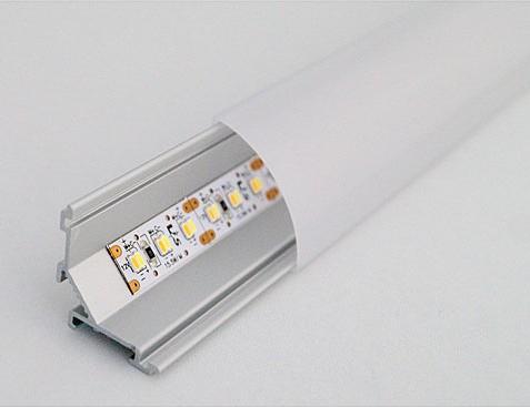 LED Leuchtenprofil 26,5 x 26,5mm, Länge 2000mm