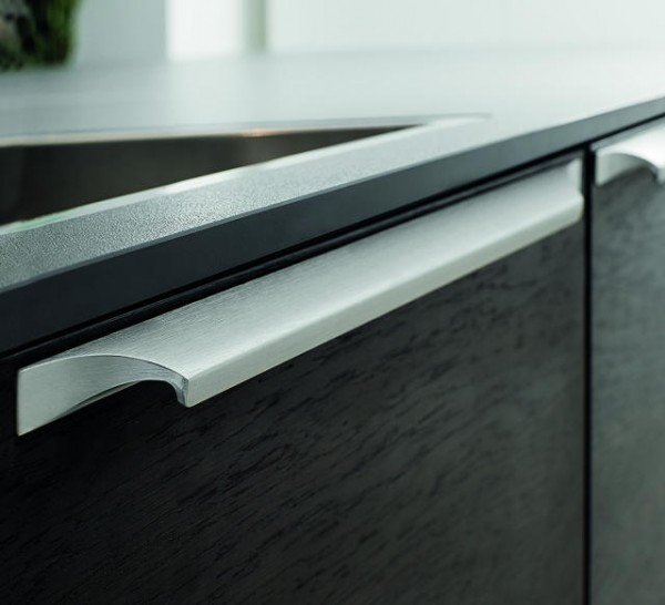 Griffleisten Primo Slim, Aluminium E-Finish