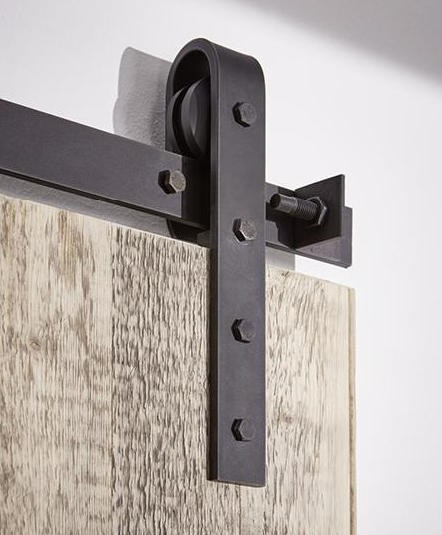 Schiebetürbeschlag  Schiebetürbeschlag Stahl - Einzelkomponenten | Holz ...