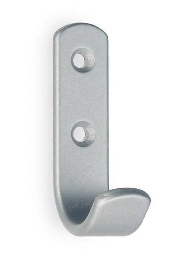 Garderobenhaken Edelstahl / Aluminium