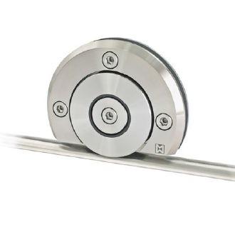Schiebetürbeschlag Terra M - Set für Glastüren mit Stärke 8-12mm