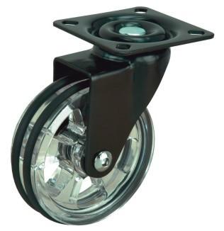 Design - Lenkrollen mit Anschraubplatte
